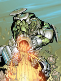 Nick Furys Howling Commandos No.2 Cover: Frankenstein Wall Decal by Eduardo Francisco