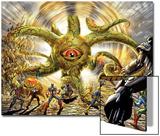 Invadors Now! No.4: Shuma-Gorath Righting Art by Caio Reis