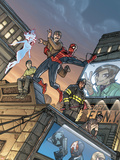 Amazing Fantasy No.15 Cover: Spider-Man Wall Decal by Pete Woods