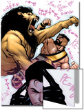 Incredible Hercules No.137 Cover: Cho, Amadeus and Hercules Prints by Rafael Albuquerque