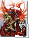 Secret Invasion: Inhumans No.3 Cover: Medusa, Gorgon, Karnak and Triton Posters by Stjepan Sejic