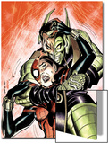 Amazing Spider-Girl No.29 Cover: Spider-Girl and Green Goblin Prints by Ron Frenz