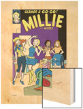 The Age Of The Sentry No.3 Group: Sentry, Millie and Chili Wood Print by Colleen Coover