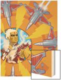 Warlock No.3 Cover: Adam Warlock Posters by J.D. Cuban
