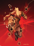 Dark Avengers: Ares No.1 Cover: Ares Plastic Sign by Cary Nord