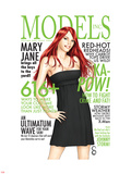 Models, Inc. No.3 Cover: Watson and Mary Jane Wall Decal by Scott Clark