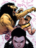 Incredible Hercules No.137 Cover: Cho, Amadeus and Hercules Plastic Sign by Rafael Albuquerque
