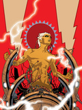 Warlock No.2 Cover: Adam Warlock Wall Decal by J.D. Cuban
