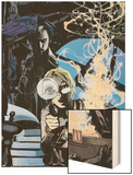 Strange No.2 Cover: Dr. Strange Wood Print by Tomm Coker