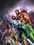 New Thunderbolts No.1 Cover: Atlas Plastic Sign by Tom Grummett