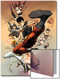 Spider-Island: Deadly Hands of Kung Fu No.3: Shang-Chi Fighting and Kicking Prints by Sebastian Fiumara