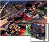 Heroes For Hire No.1: Falcon Flying Prints by Brad Walker