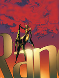 The Immortal Iron Fist No.19 Cover: Iron Fist Plastic Sign by Travel Foreman