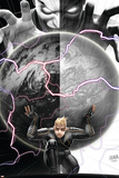 Longshot Saves the Marvel Universe 4 Cover: Longshot, In-Betweener Plastic Sign by David Nakayama