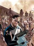 Dark Reign: New Nation No.1 Cover: Nick Fury Plastic Sign by Daniel Acuna