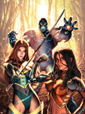 New Exiles No.14 Cover: Marvel Universe Plastic Sign by Alex Garner
