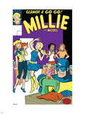 The Age Of The Sentry No.3 Group: Sentry, Millie and Chili Plastic Sign by Colleen Coover