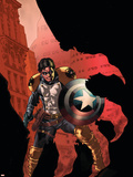 Civil War: House Of M No.3 Cover: Bucky Wall Decal by Mike Perkins