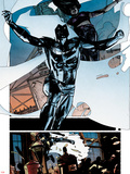 Moon Knight No.8 - Jumping Plastic Sign by Alex Maleev