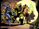 Ultimate Doom No.1: Invisible Woman and Reed Richards Standing Art by Rafa Sandoval