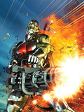 Deathlok No.2 Cover: Deathlok Plastic Sign by Brandon Peterson