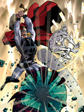 Chaos War No.4 Cover: Thor and Silver Surfer Plastic Sign by Dan Panosian