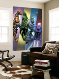 Infinity: Heist 2 Cover: Spymaster, Titanium Man, Whiplash, Blizzard Wall Mural by Al Barrionuevo