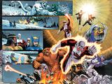 Chaos War: Alpha Flight No.1: Guardian, Sasquatch, Shaman, Northstar, Aurora, Marina, & Vindicator Wall Decal by Reilly Brown