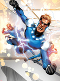 Fear Itself: The Home Front No.7: Speedball Flying Plastic Sign by Mike Mayhew