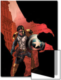 Civil War: House Of M No.3 Cover: Bucky Prints by Mike Perkins