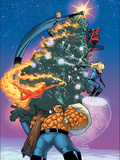 Marvel Holiday Special No.1 Cover: Thing Plastic Sign by Stuart Immonen