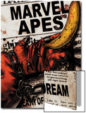 Marvel Apes 4 Cover: Marvel Universe Art by John Watson