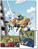 The Age Of The Sentry No.4 Cover: Sentry Print by Dave Bullock