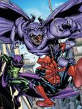 Marvel Adventures Spider-Man No.47 Cover: Spider-Man Plastic Sign by Sanford Greene