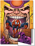 Marvel Adventures Spider-Man No.23 Cover: Spider-Man and M.O.D.O.K Posters by Ale Garza
