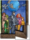 Secret Invasion: Inhumans No.4 Group: Black Bolt, Medusa, Karnak, Gorgon, Crystal and Triton Poster by Tom Raney