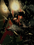 Punisher No.16 Cover: Punisher Smashing Plastic Sign