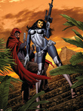 House of M: Masters of Evil No.3 Cover: The Hood and Madame Masque Wall Decal by Mike Perkins