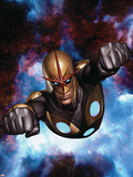 Nova No.9 Cover: Nova Plastic Sign by Adi Granov