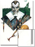Marvel 1602: New World No.4 Cover: Osborn and Norman Poster by Sergio Toppi