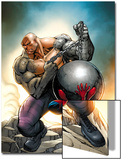 Marvel Adventures Spider-Man No.24 Cover: Spider-Man and Absorbing Man Posters by Ale Garza