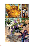 Marvel Adventures Spider-Man No.12 Group: Spider-Man, Green Goblin, Sandman and Doctor Octopus Wall Decal by  Mike Norton