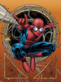 Marvel Adventures Spider-Man No.36 Cover: Spider-Man Wall Decal by David Nakayama