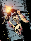 The Punisher No.7 Cover: Punisher Plastic Sign by Michael Lark