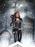 Black Widow: Deadly Origins No.2 Cover: Black Widow Plastic Sign by Adi Granov