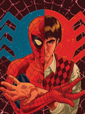 Spider-Man: With Great Power& No.1 Cover: Spider-Man, Peter Parker Plastic Sign by Tony Harris
