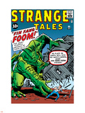 Journey Into Mystery No.62 Cover: Fin Fang Foom Plastic Sign by Jack Kirby