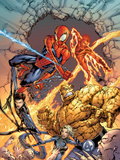 Spider-Man Team-Up Special No.1 Group: Spider-Man Plastic Sign by Shane Davis