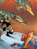 The Amazing Spider-Man No.652: Scorpion Ready to Attack Plastic Sign by Stefano Caselli