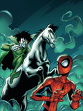 Marvel Adventures Spider-Man No.12 Cover: Spider-Man and Nightmare Wall Decal by Mike Norton